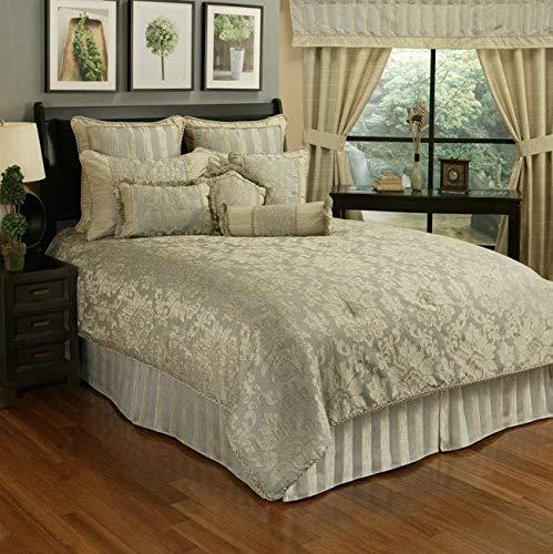 paloma stripe queen comforter set