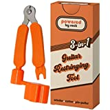 Guitar String Winder, String Cutter and Bridge Pin Puller - 3-in-1 Guitar Tool for Acoustic and Electric Guitars - Wind Guita