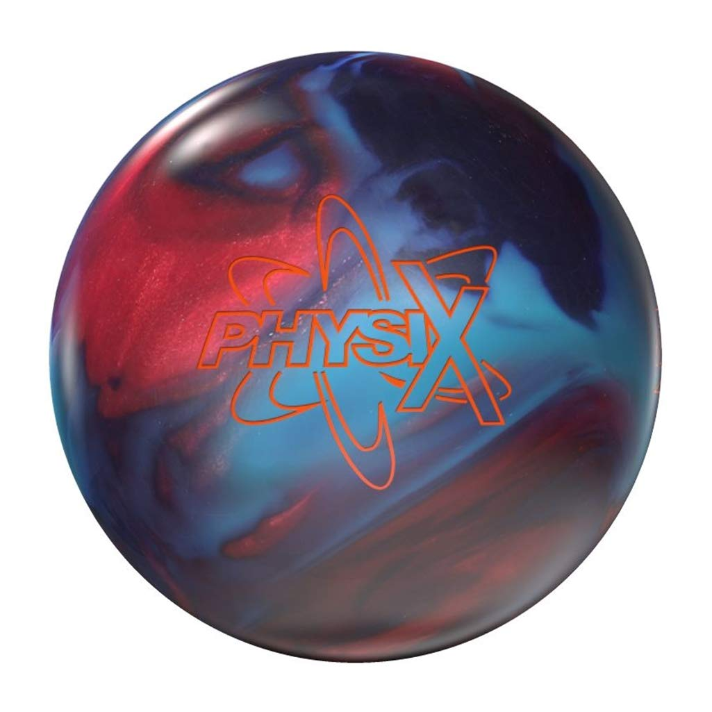 Storm Bowling Products Physix Bowling Ball- 12lbs, Red/Blue/Purple, 12