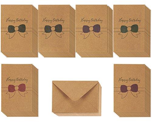 Brown Kraft Paper Greeting Cards