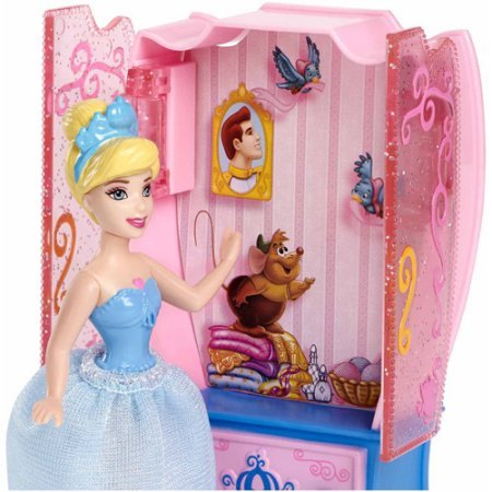 [Little Kingdom Cinderella Doll and Furniture Play Set] (Ready For Action Military Costume)