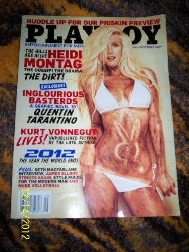 Playboy Magazine, September 2009 (2009 Magazine)