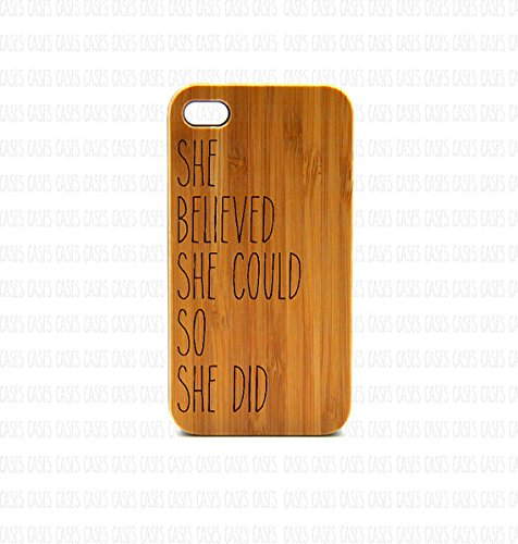 Krezy Case Real Wood iPhone 5 Case, Cute quote iPhone 5 Case, Wood iPhone 5 Case, Wood iPhone Case,