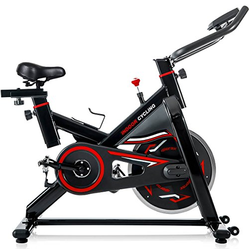 Merax Deluxe Indoor Cycling Bike Cycle Trainer Exercise Bicycle from Merax