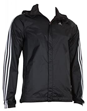 Adidas Ess 3s Rain Veste pluie Vestes Vestes d'extérieur Vestes Veste fonctionnelle à capuche