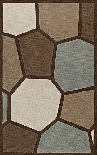 Dalyn Rugs TR910X14OV Transitions Rug, 10' x 14' Oval 14' Stained Glass