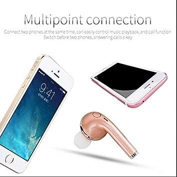 Deporte En Auriculares In-Ear Bluetooth Auriculares Smart inalámbrico, fitness, manos libres, ruido Rompa, Graves profundos, para teléfono móvil smartphone tableta iPad iPhone se Huawei Mate Samsung Galaxy: Amazon.es: Electrónica