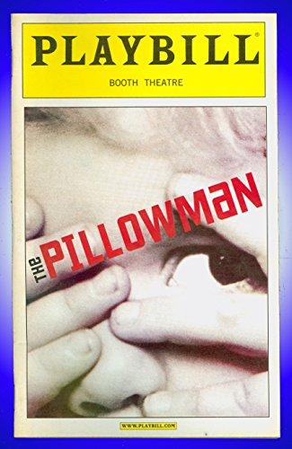 The Pillowman, Broadway playbill + Jeff Goldblum , Zeljko Ivanek , Madeleine Martin