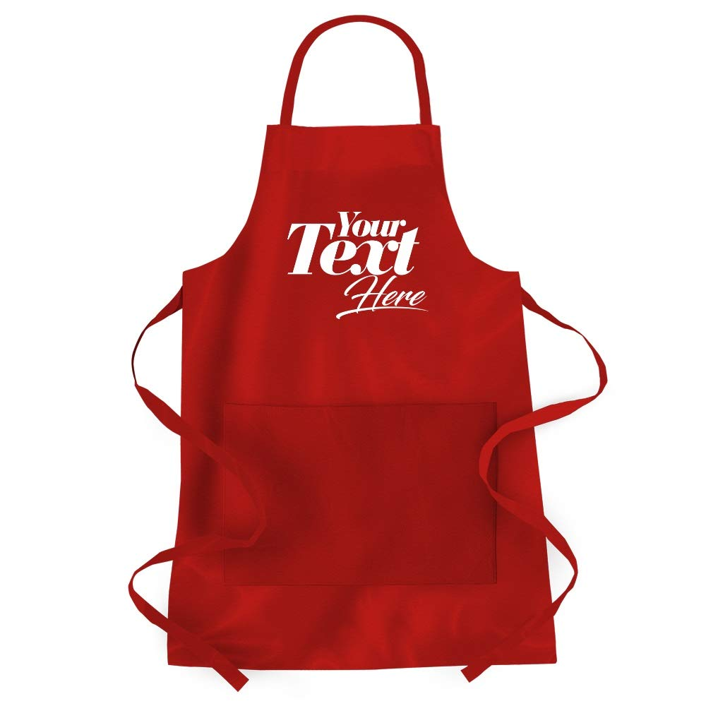 Add Your Own Custom Text - Personalized Apron IDKSMD0BR0000000
