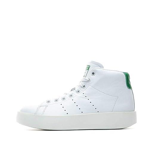 new product c4e00 c7f4b adidas Women's Stan Smith Bold Mid W Fitness Shoes: Amazon ...