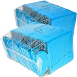 50 Premium Blank Beverage Coolers (Neon Blue) For Sale