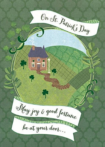 (Good Fortune at Your Door - Designer Greetings St. Patrick's Day Card )
