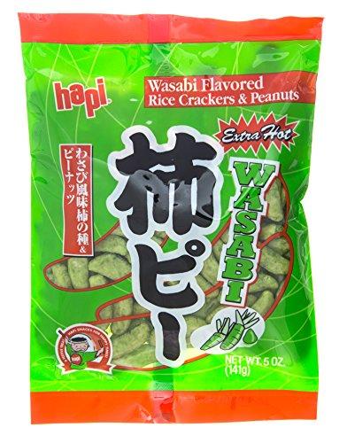 (Hapi Kaki Pea Wasabi, 5-Ounce (Pack of 6))