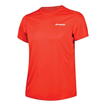 another chance 5d730 c0027 Babolat Jungen Tennis-T-Shirt Core Flag: Amazon.de: Sport ...