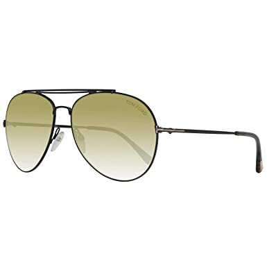 eb62229587 Image Unavailable. Image not available for. Color  Sunglasses Tom Ford FT  0497 Indiana 01N shiny ...