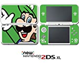 #6: New Super Mario Bros Luigi Special Edition Video Game Vinyl Decal Skin Sticker Cover for Nintendo New 2DS XL System Console