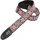 Levy's Leathers 2 Jacquard Weave Hootenanny Guitar Strap