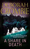 A Share in Death by Deborah Crombie front cover