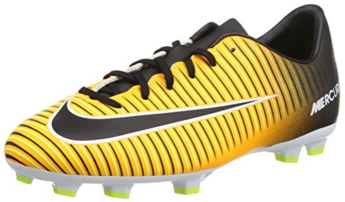 Nike Jr Mercurial Victory Vi Fg, Botas de Fútbol Unisex Niños Naranja (Laser Orange / Black / White / Volt)