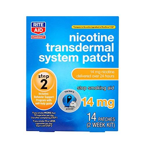 Rite Aid Nicotine Transdermal System Patch, Step