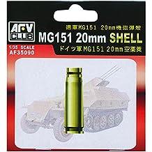 MG151 20mm Ammo Shells, Brass (20pc) 1-35 AFV Club