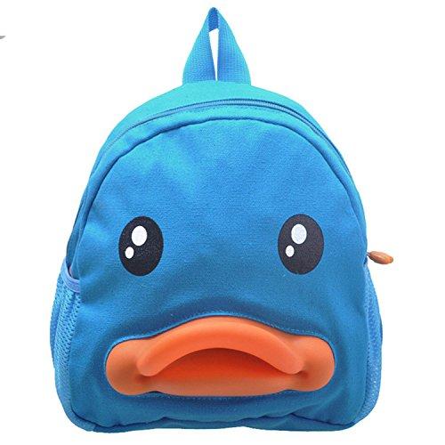 BuyHere Cute Duck Unisex Kids Backpack - 1