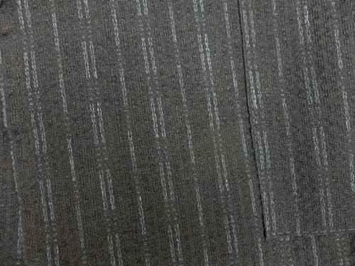 日本製 9~10歳用 男物 子供甚平 130サイズ 紺地 雨縞 柄 No.3015