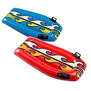 Tabla de Surf Hinchable niños mar y piscina color – rojo