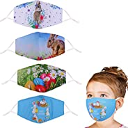 Kids Face Cloth Mask Washable,Reusable&Adjustable Size,The Best Easter's Gift for