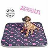 Pupwhiz: Pee Pads for Dogs Washable and Reusable Urine Incontinence XL Mats 30×36 | Perfect for Potty Training and Whelping in Playpen & Kennel Crate | Ideal for Water Bowl Placemat and Pet Feeding For Sale