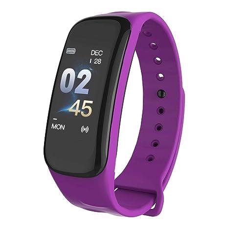 Amazon.com: ZJYSM Reloj inteligente Ip67 Color Touch Pulsera ...
