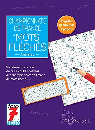 Championnats de France de mots fléchés : Annales ()