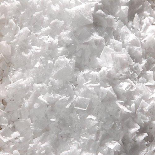 Cyprus Flake Sea Salt - The Spice Lab Premium Gourmet Cyprus White Flake Mediterranean Finishing Salt - A Great Large Flake Finishing Salt (8 Ounce Bag)