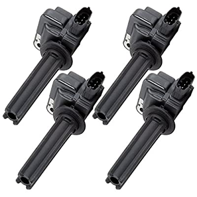 OCPTY Set of 4 Ignition Coils Compatible with OE: UF526 5C1761 5C1423 Fit for Saab 9-3 Saab 9-3X Cadillac BLS 2003-2011: Automotive
