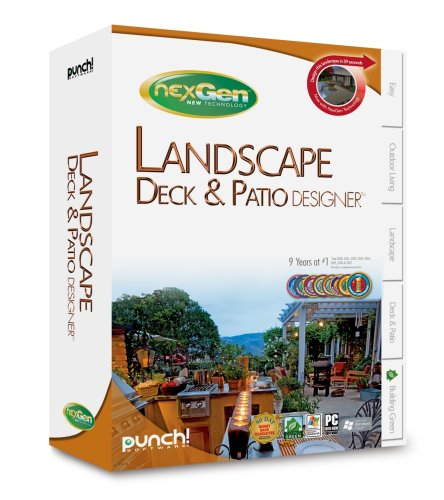 Punch! Landscape, Deck, & Patio Designer with NexGen Technology by Punch Software