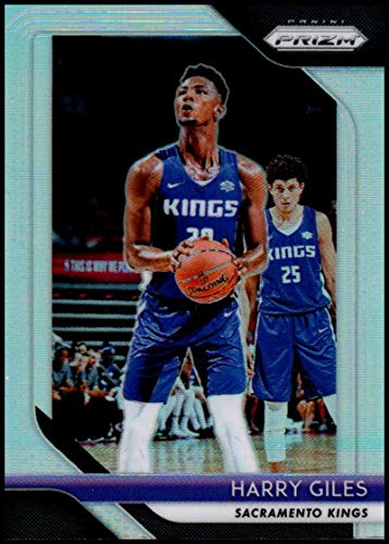 e622c35f619a Amazon.com  2018-19 Panini Prizm Prizms Silver  201 Harry Giles Sacramento  Kings Basketball Card  Collectibles   Fine Art