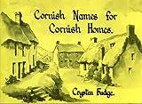 Cornish Names for Cornish Homes 9780950643106