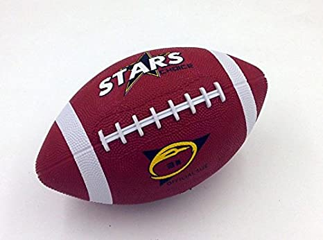 Estrellas elección size-3 balón de fútbol americano panels-4 goma ...