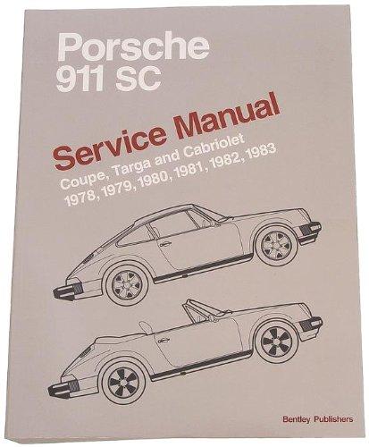 bentley paper repair manual porsche 911 sc 1978 83. Black Bedroom Furniture Sets. Home Design Ideas