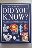 Did You Know?, Reader's Digest Editors, 0276420144