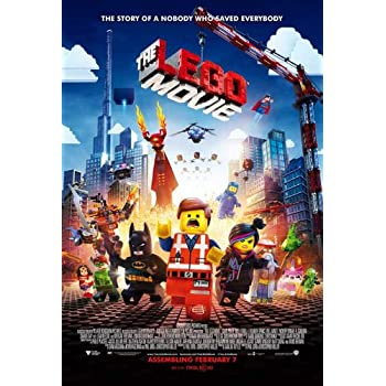 Amazon.com: THE LEGO MOVIE - Movie Poster - Double-Sided - 27x40 ...
