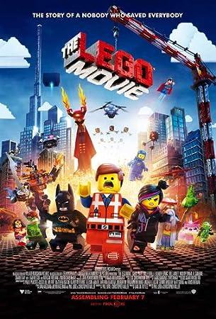 Amazon.com: The LEGO Movie (2014) 27 x 40 Movie Poster - Style B ...