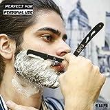Professional Barber Straight Razors for Men, 2pc