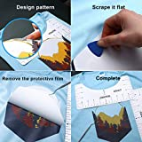 T-Shirt Alignment Ruler Kit,PVC T-Shirt Ruler Guide