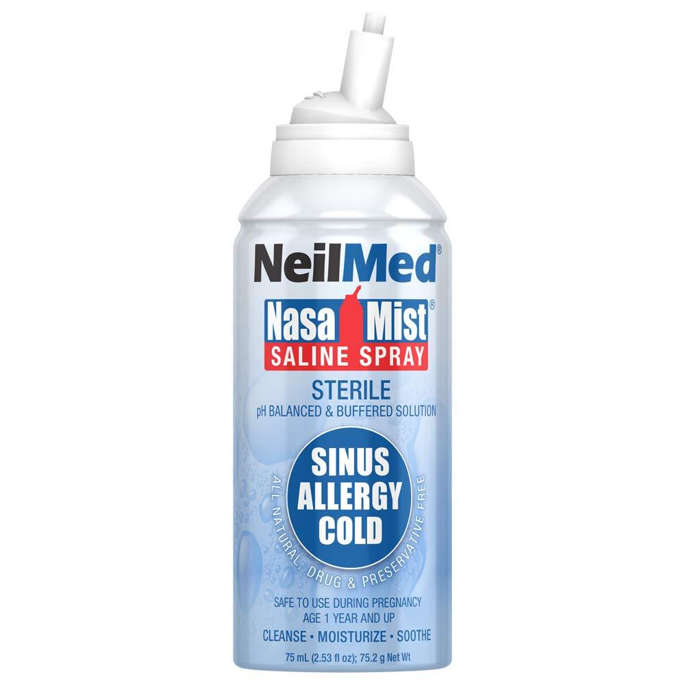 NasaMist Hypertonic Extra Strength Saline Spray, 125mL