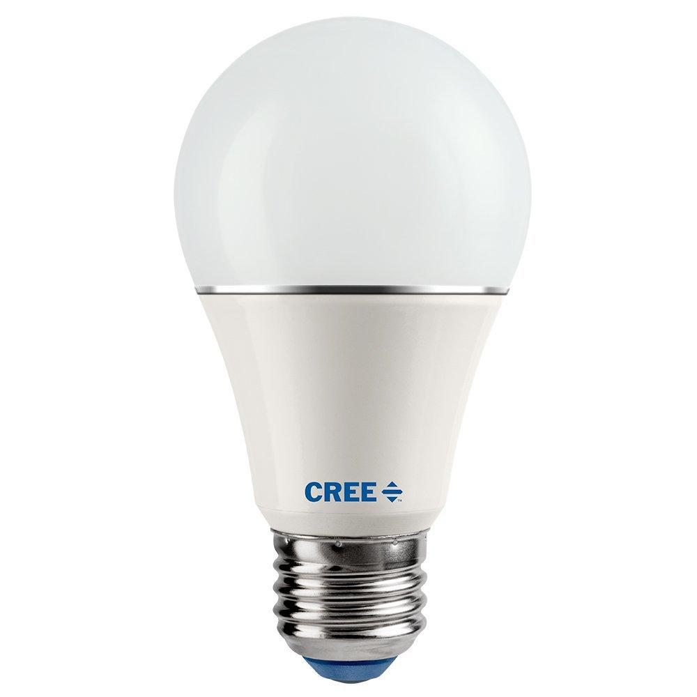 Cree SA19-04627MDFD-12DE26-1-14 - Bombilla LED de repuesto A19 (4 unidades, 2700 K), intensidad ajustable, color blanco: Amazon.es: Bricolaje y herramientas