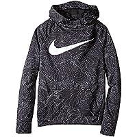 NIKE Therma Boys Printed Training Fleece Hoodie Pullover