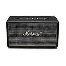 Marshall Stanmore Wireless Bluetooth Speaker - Black 4090107 (Certified Refurbished)