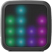 JAM Trance Mini Wireless Lightshow Bluetooth Speaker, 36 LED Light Party Programs, Built-in Speakerphone, Rechargeable, Play Music, Connect to iPhone, Android, Perfect for Parties, HX-P460