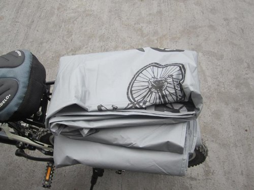 KLOUD City Grey Polyester Waterproof Bike Bicycle Cover by KLOUD City (Image #3)